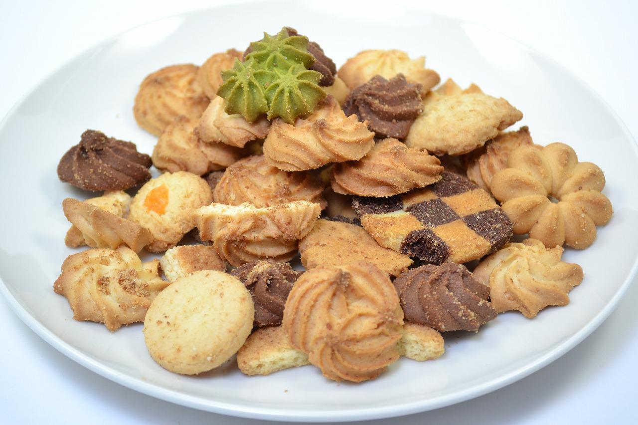 茨木広告宣伝舎商品撮影例(割れクッキー)