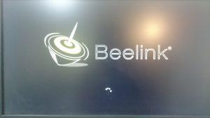 Beelink AP34ブートスプラッシュ画面