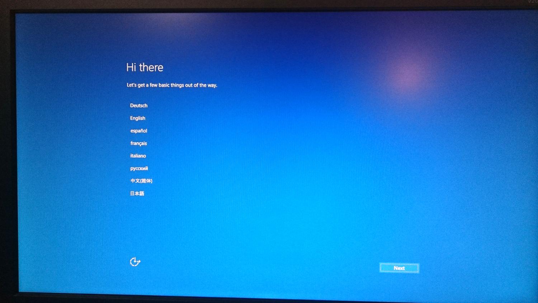 Beelink AP34Windows10初期設定