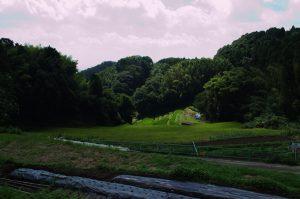 茨木市北部の山間地域(安元)