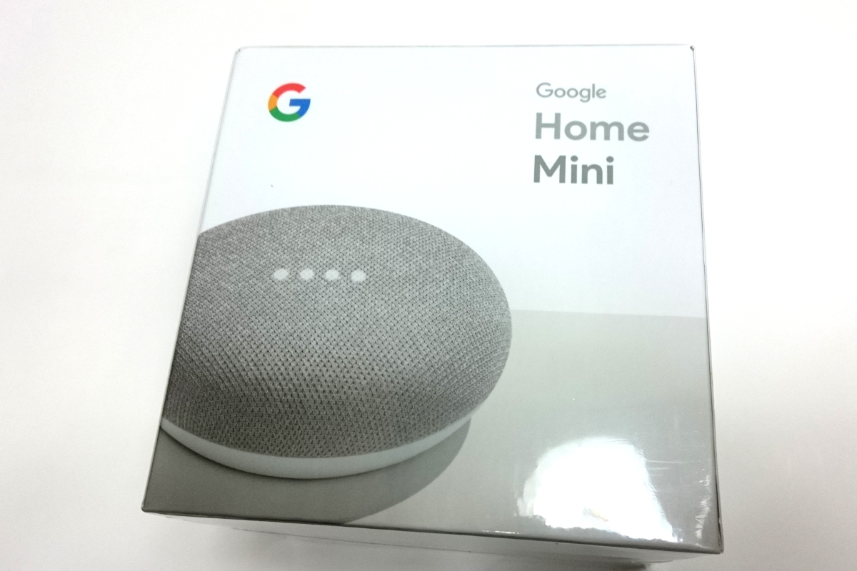 Google Home Miniパッケージ