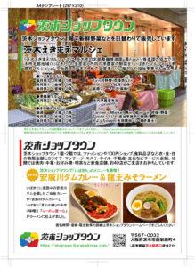 茨木広告宣伝舎チラシ制作事例(大阪府茨木市・小売業)