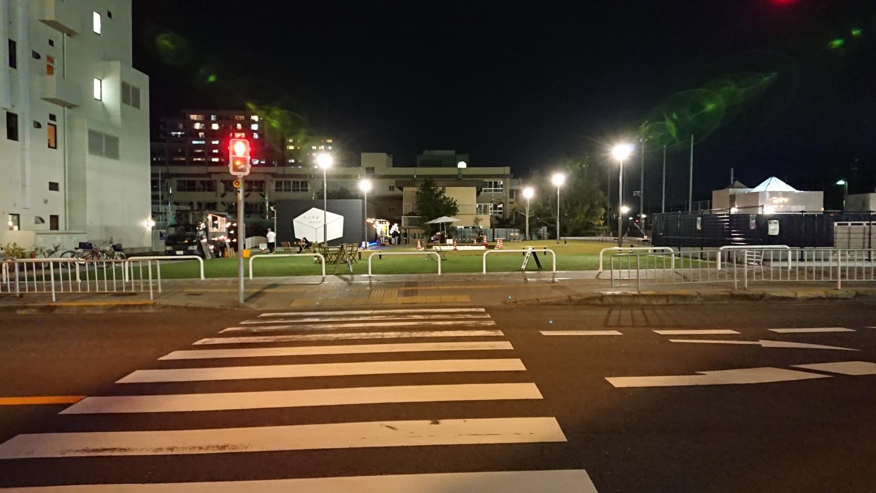 茨木市市民会館跡地IBALAB広場