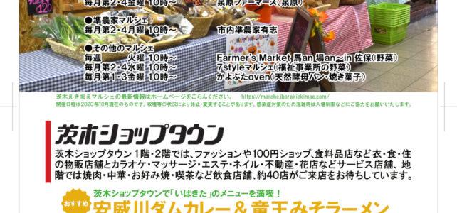 チラシ制作事例(2020年10月・茨木市・商店街)