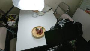 茨木・高槻のホームページ制作茨木広告宣伝舎の写真撮影セッティング