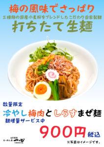 茨木・高槻のホームページ制作茨木広告宣伝舎の飲食店メニューポスター制作・撮影事例